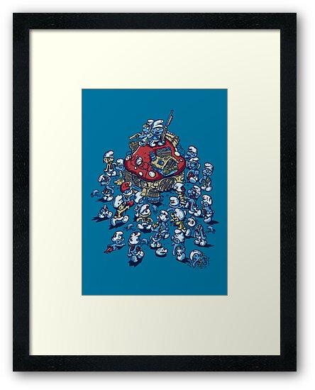 Blue Horde by Letter-Q