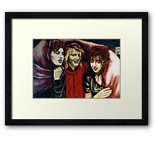 Kate, Jus, Beck Framed Print