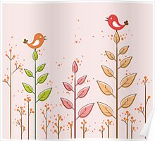 Birds dialogue Poster