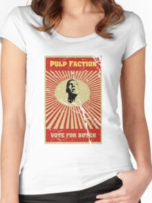 Pulp Faction - Butch Women's Fitted Scoop T-Shirt