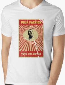 Pulp Faction - Butch Mens V-Neck T-Shirt