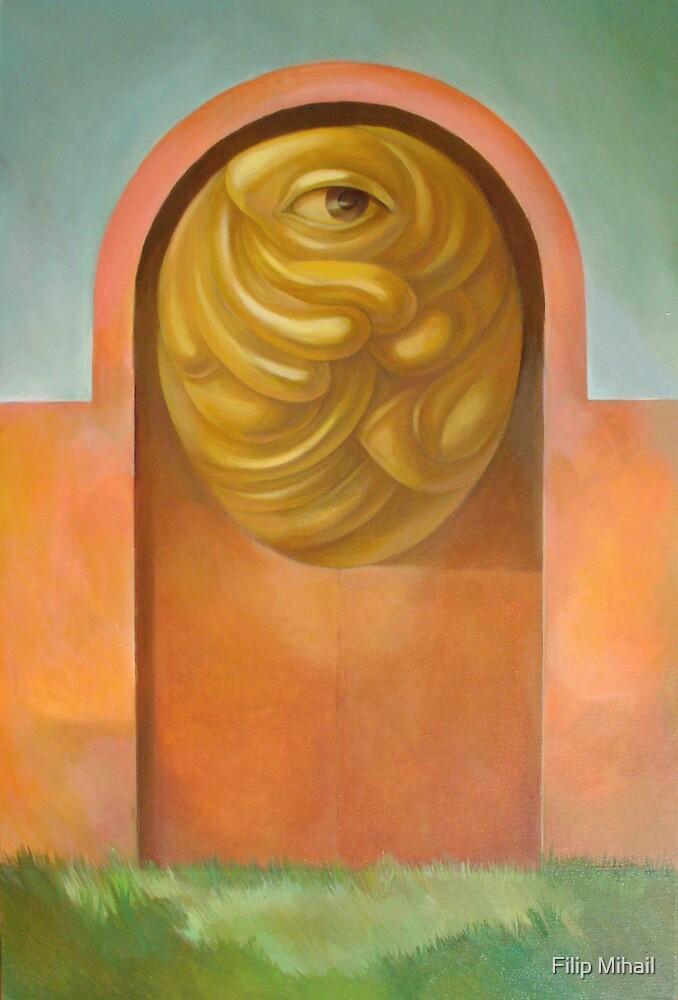 Porta Guardata by painterflipper