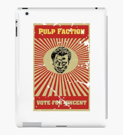 Pulp Faction - Vincent iPad Case/Skin