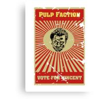 Pulp Faction - Vincent Canvas Print