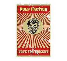 Pulp Faction - Vincent Photographic Print
