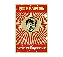 Pulp Faction - Vincent Photographic Print
