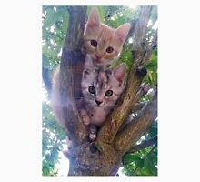 Kittens on a tree. Unisex T-Shirt