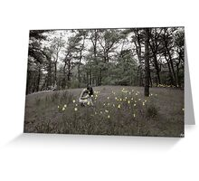 The Daffodils Greeting Card