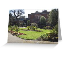 Exeter Garden Greeting Card