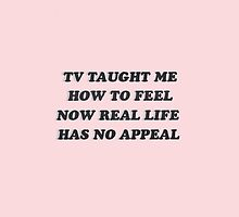 TV Taught Me How To Feel // Pink by nikolinalooch