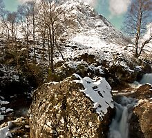 Buachaille Etive Mor In Winter by Andrew Robertson