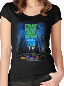 Teenage Mutant Ninja Turtles Women's Fitted Scoop T-Shirt