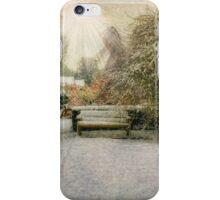 Magical Snowy Garden iPhone Case/Skin