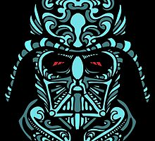 Darth Vader Blue by UraniumSnap