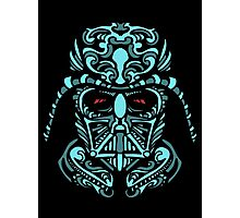 Darth Vader Blue Photographic Print