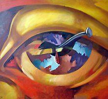 Red Eye by painterflipper