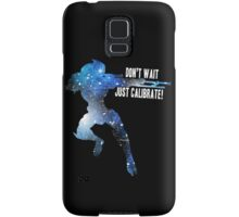 Mass Effect Silhouettes, Garrus - Don't Wait, Just Calibrate! Samsung Galaxy Case/Skin