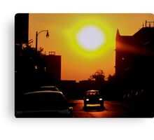 Sunset on East 11th Street Canvas Print