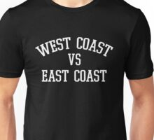 "West VS East - ""White"" Unisex T-Shirt"