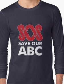 SOS Save Our ABC T Shirt & Other Products Long Sleeve T-Shirt