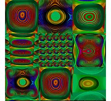 Green Combo Photographic Print