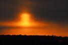 Foggy Sunrise by TerriRiver