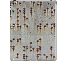 Rusty Buttons  1  iPad Case/Skin