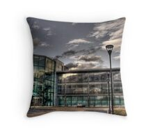 Glass, Stairs and Reflections Throw Pillow