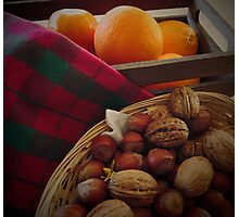 Fruit 'n nuts Photographic Print