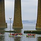 Raft Race II by Tom Gomez