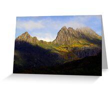 Cradles of Time- Cradle Mountain National Park, Tasmania, Australia Greeting Card