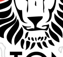 Lion Order BLK STK Sticker