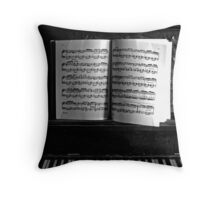 Old Time Scott Joplin Throw Pillow