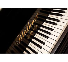 Grand Piano Photographic Print