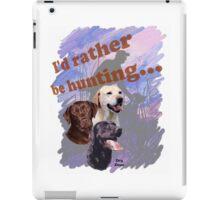 Hunting Labrador Retriever iPad Case/Skin