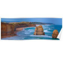 Set In Stone - Great Ocean Road. , Great Otway National Park , Victoria Australia Poster