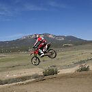 Motocross Racing - Rider with a whip over the jump - Nice! Cahuilla, MX Vet X Racing Series by leih2008