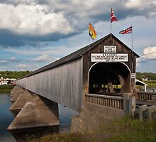 Hartland Covered Bridge by PhotosByHealy