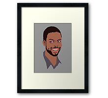 Chris Rock Framed Print