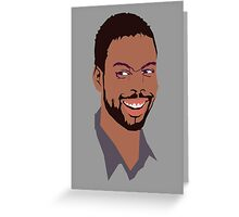 Chris Rock Greeting Card