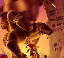 Giant Robot Attack by Colin Howard