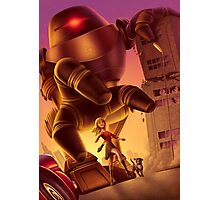 Giant Robot Attack Photographic Print