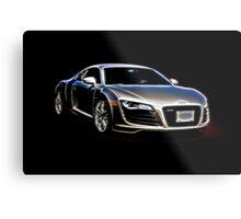 2014 Audi Quaddro R8 Metal Print