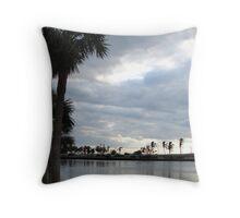 Florida Lanscape Throw Pillow