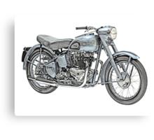1951 Triumph Thunderbird Motorcycle Canvas Print