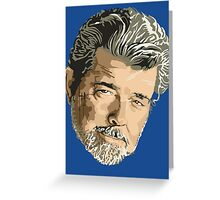 George Lucas Greeting Card