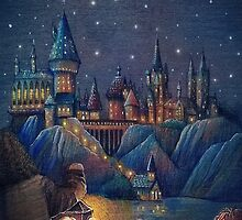 Hogwarts Fairytale by illustore