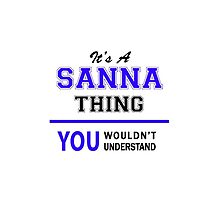 It's a SANNA thing, you wouldn't understand !! by thestarmaker