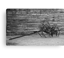 Old Cultivator Canvas Print