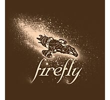 Firefly Silhouette Photographic Print